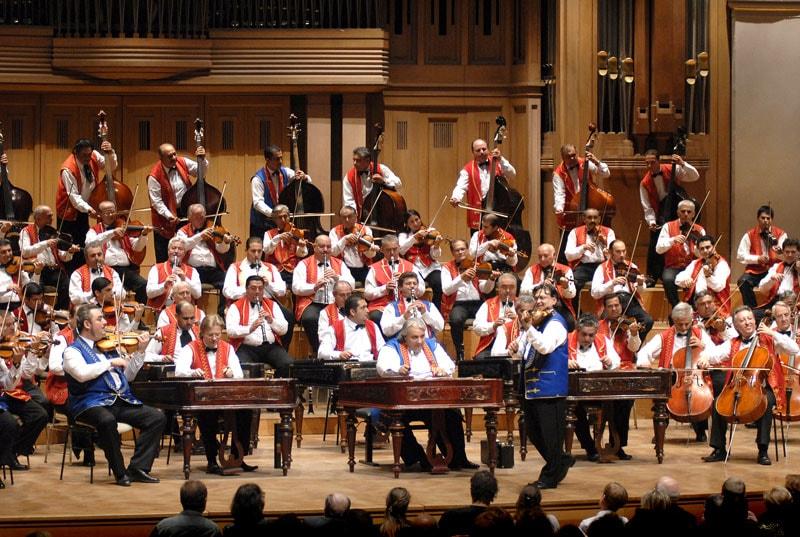 """Будапештский симфонический оркестр цыган  """"100 скрипок"""", фото"""