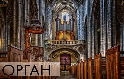 Концерт органной музыки - Под небом Франции, фото