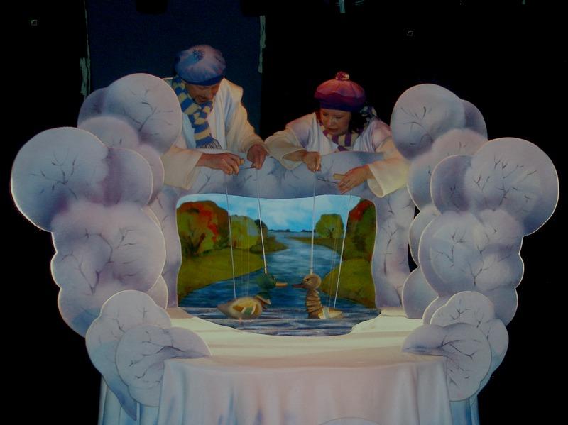 """Большой Детский фестиваль,""""Серая шейка"""" (Калужский театр кукол), фото"""