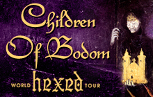 CHILDREN OF BODOM. HEXED WORLD TOUR 2019, фото