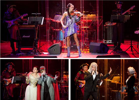 """A.Vivaldi, Deep Purple, Queen, Led Zeppelin, Ozzy Osbourne, Nirvana в проекте LEONARDA, Opera XXI"", фото"