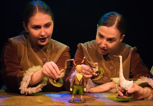 """Детский фестиваль, """"Удивительное путешествие Нильса с дикими гусями"""", фото"""