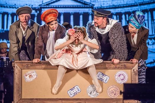 """Большой Детский фестиваль, мюзикл """"Ваня и крокодил"""" г. Москва, фото"""
